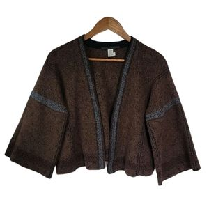Peruvian Connection Bell Sleeve Cardigan M/L